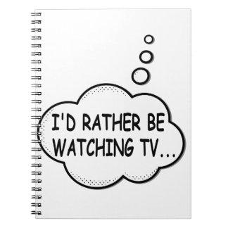 Carnet Je regarderais plutôt la TV