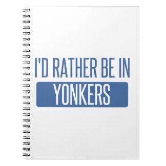 Carnet Je serais plutôt dans Yonkers