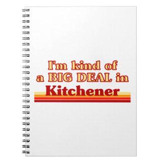 Carnet Je suis un peu une affaire dans Kitchener
