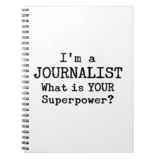 Carnet journaliste