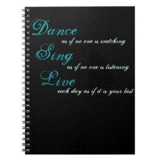Carnet La danse chantent vivant…