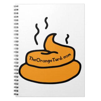 Carnet La merde orange