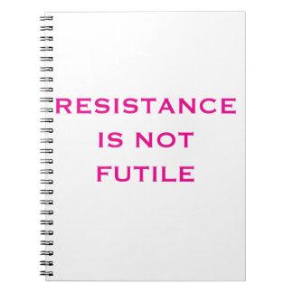 Carnet La résistance n'est pas futile