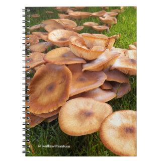 Carnet L'automne des champignons