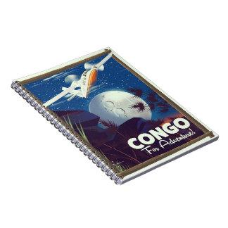 Carnet Le Congo pour l'aventure ! affiche de voyage