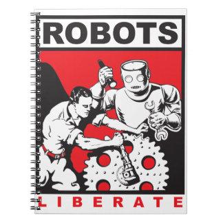 Carnet Le robot vous place libres
