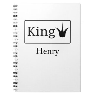 Carnet Le Roi Notebook