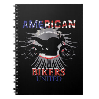 Carnet Les cyclistes américains ont uni le graphique de