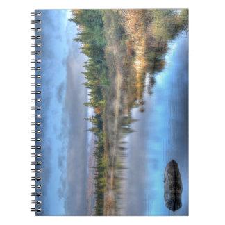 Carnet Lever de soleil d'automne au lac Maine Moosehead