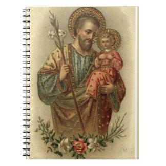Carnet Lis de Jésus de bébé de St Joseph