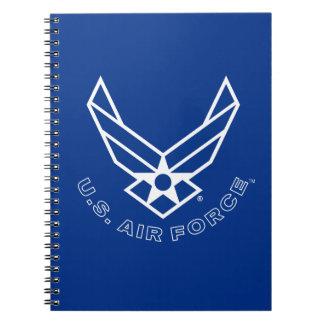Carnet Logo de l'Armée de l'Air - bleu