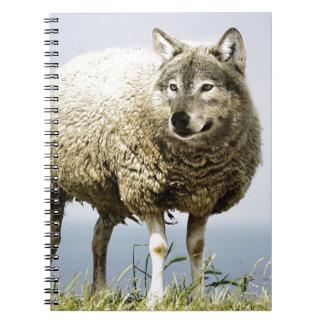 Carnet Loup dans l'habillement du mouton