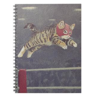 Carnet Luchador Kitty