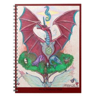 Carnet magique de licorne de dragon