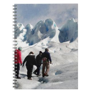 Carnet Marchant sur le glacier de Perito Moreno,