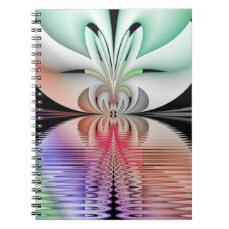 Carnet Métamorphose abstraite de fractale