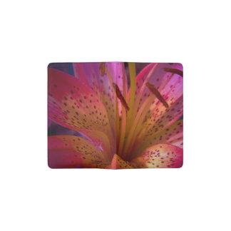 Carnet Moleskine De Poche Lis rose - beau désordre