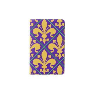 Carnet Moleskine De Poche Mardi gras Fleur de Lis de la Nouvelle-Orléans