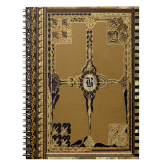 Carnet Monogramme victorien de Marilayne Latoire Goth