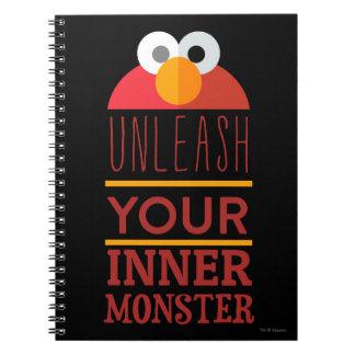 Carnet Monstre intérieur d'Elmo