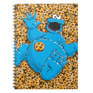 Carnet Monstre vintage et biscuits de biscuit
