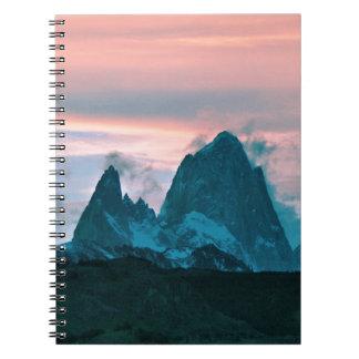 Carnet Montez Fitz Roy, le Patagonia, Argentine au