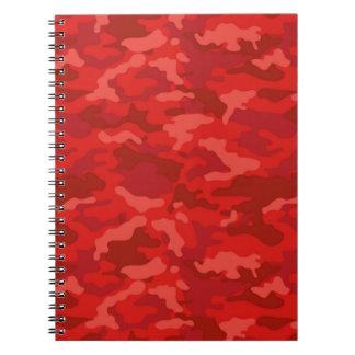 Carnet Motif militaire de camouflage de Camo d'armée
