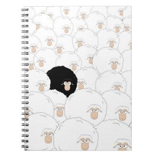 Carnet Moutons noirs