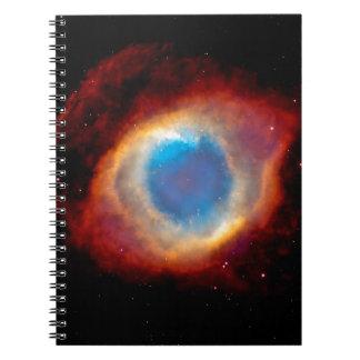Carnet Nébuleuse planétaire NGC 7293 d'hélice - oeil de