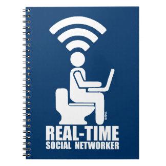 Carnet Networker social en temps réel