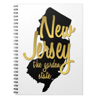 Carnet New Jersey - garden state