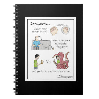 Carnet noir de fondements introvertis