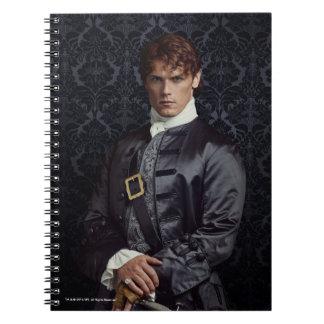 Carnet Outlander   Jamie Fraser - portrait