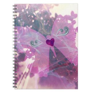 Carnet Pages de papillon