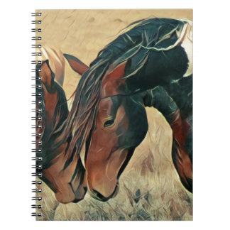 Carnet Peignez les poneys
