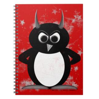 Carnet Penguin™ mauvais