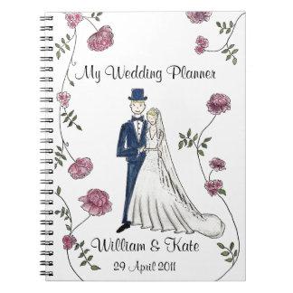Carnet personnalisé de wedding planner