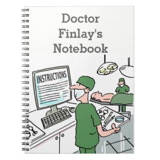 Carnet Personnalisé pour les médecins praticiens