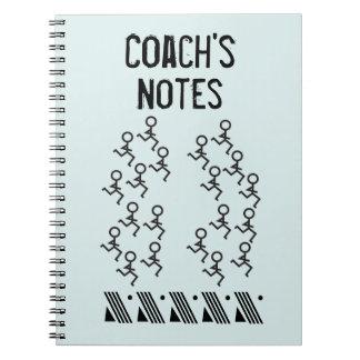 Carnet Personnaliser - entraîneur fonctionnant