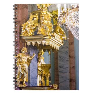 Carnet Peter et forteresse St Petersburg Russie de Paul