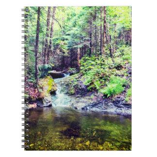 Carnet Photo naturelle de rivière