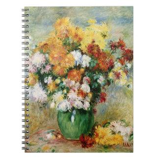 Carnet Pierre un bouquet de Renoir | des chrysanthèmes