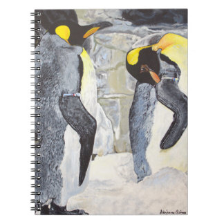 Carnet Pingouins d'empereur sur la glace