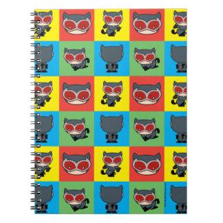 Carnet Poses de caractère de Catwoman de Chibi