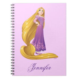 Carnet Princesse Power de Rapunzel  