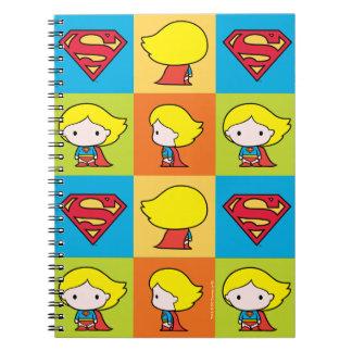Carnet Revirement de caractère de Chibi Supergirl