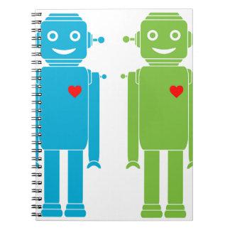 Carnet Robots gais