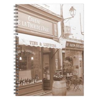 Carnet Rues de la Provence