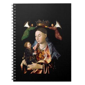Carnet Salaison de Madonna et de l'enfant du Christ