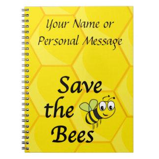 Carnet Sauvez les abeilles